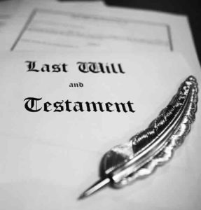 Last Will and Testament Georgia section